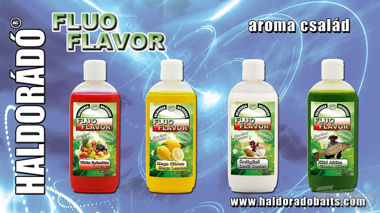 HALDORADO Fluo Flavor 200ml - Red Fruit
