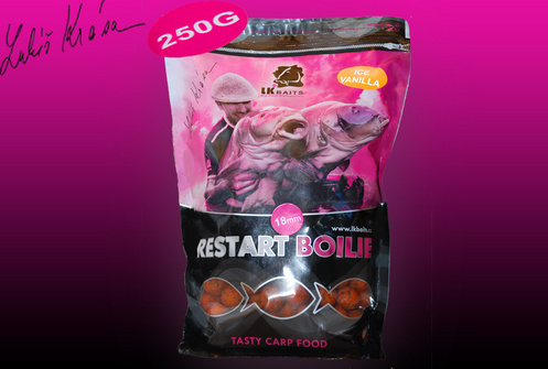 LK BAITS ReStart Ice Vanilia 250g, 18mm