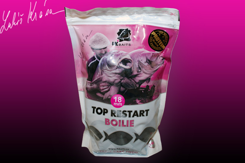 LK BAITS Top ReStart Black Protein 1kg, 18mm