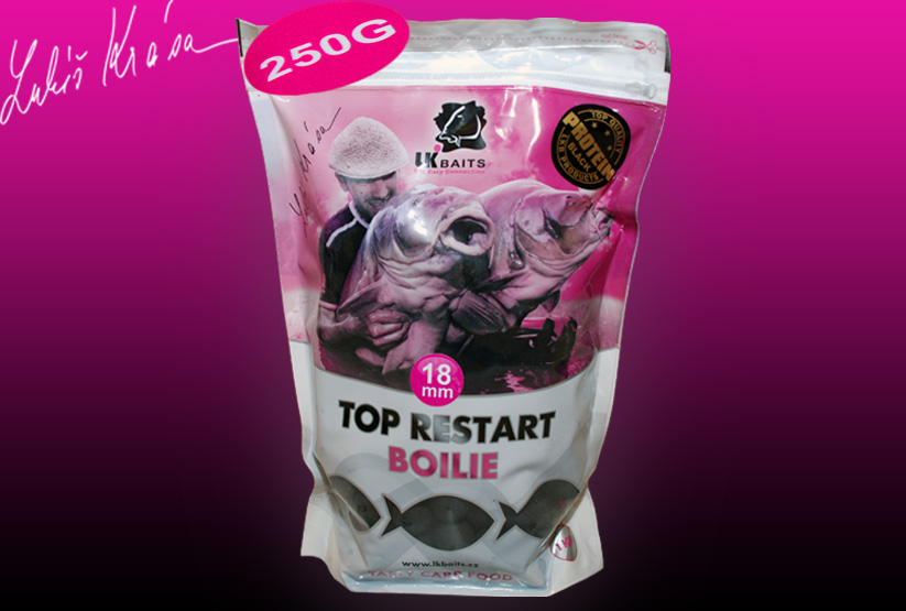 LK BAITS Top ReStart Black Protein 250g, 18mm