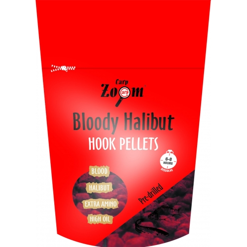 CARP ZOOM Strawberry/Jahodové Halibut Hook Pellets