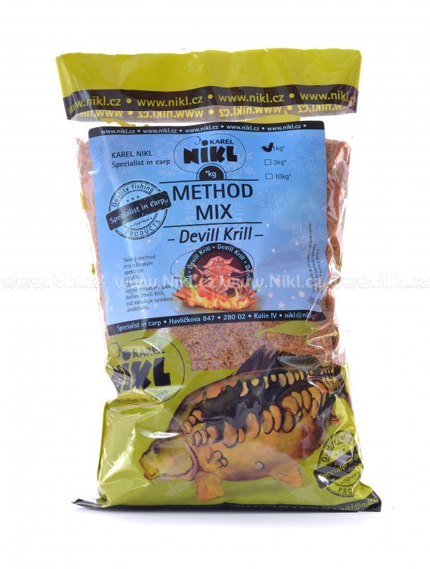 NIKL Method Mix Devill Krill /1kg, 3kg/