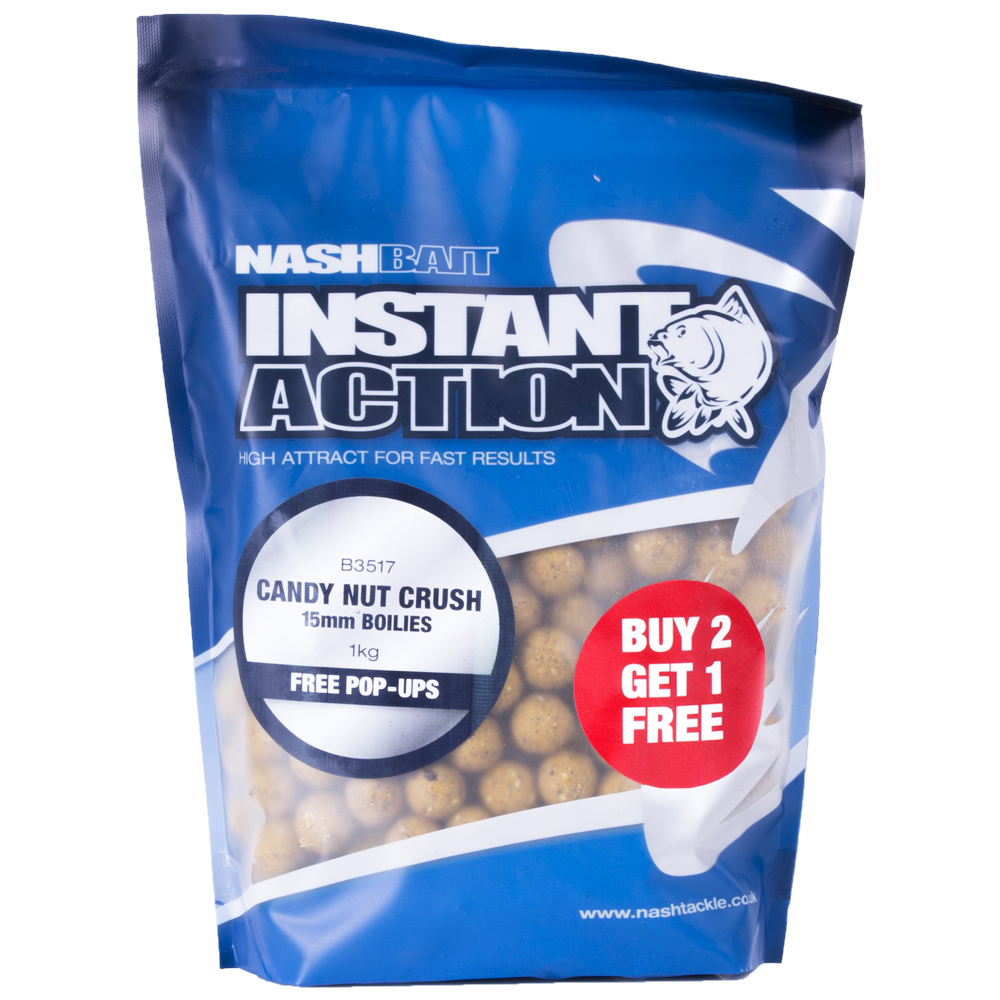 NASH Instant Action Candy Nut Crush 15mm 200g