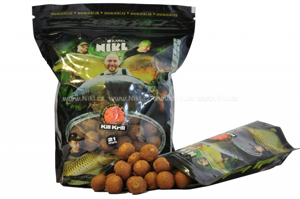 NIKL Ready boilie Kill Krill - 20 mm, 250 g