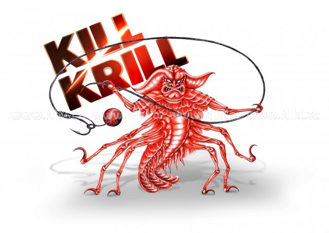 NIKL Ready boilie Kill Krill ATRAKT - 20 mm, 1 kg