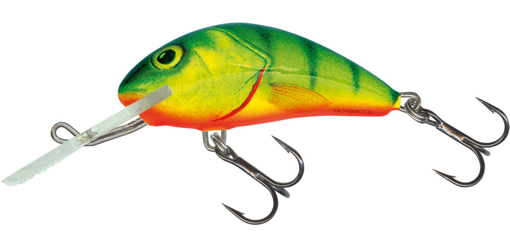 SALMO Wobler Hornet Floating Hot Perch 9cm, 36g