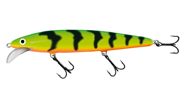 SALMO Wobler Floating Green Tiger 15cm, 28g