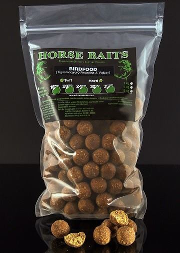 HORSE BAITS Boilies Soft 1kg - Birdfood 20mm