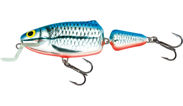 SALMO Wobler Frisky Deep Runner Silver Blue Orange 7cm, 7g