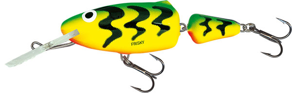 SALMO Wobler Frisky Deep Runner Green Tiger