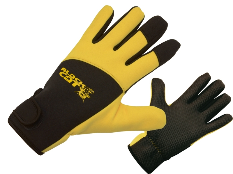 BLACK CAT Sumcové rukavice DeLuxe Gloves - pár XL