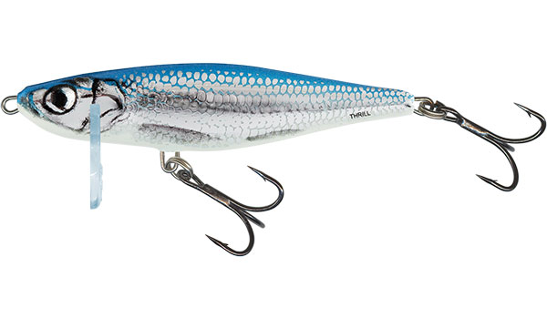 SALMO Wobler Thrill Sinking Blue Fingerling - 7cm, 7g