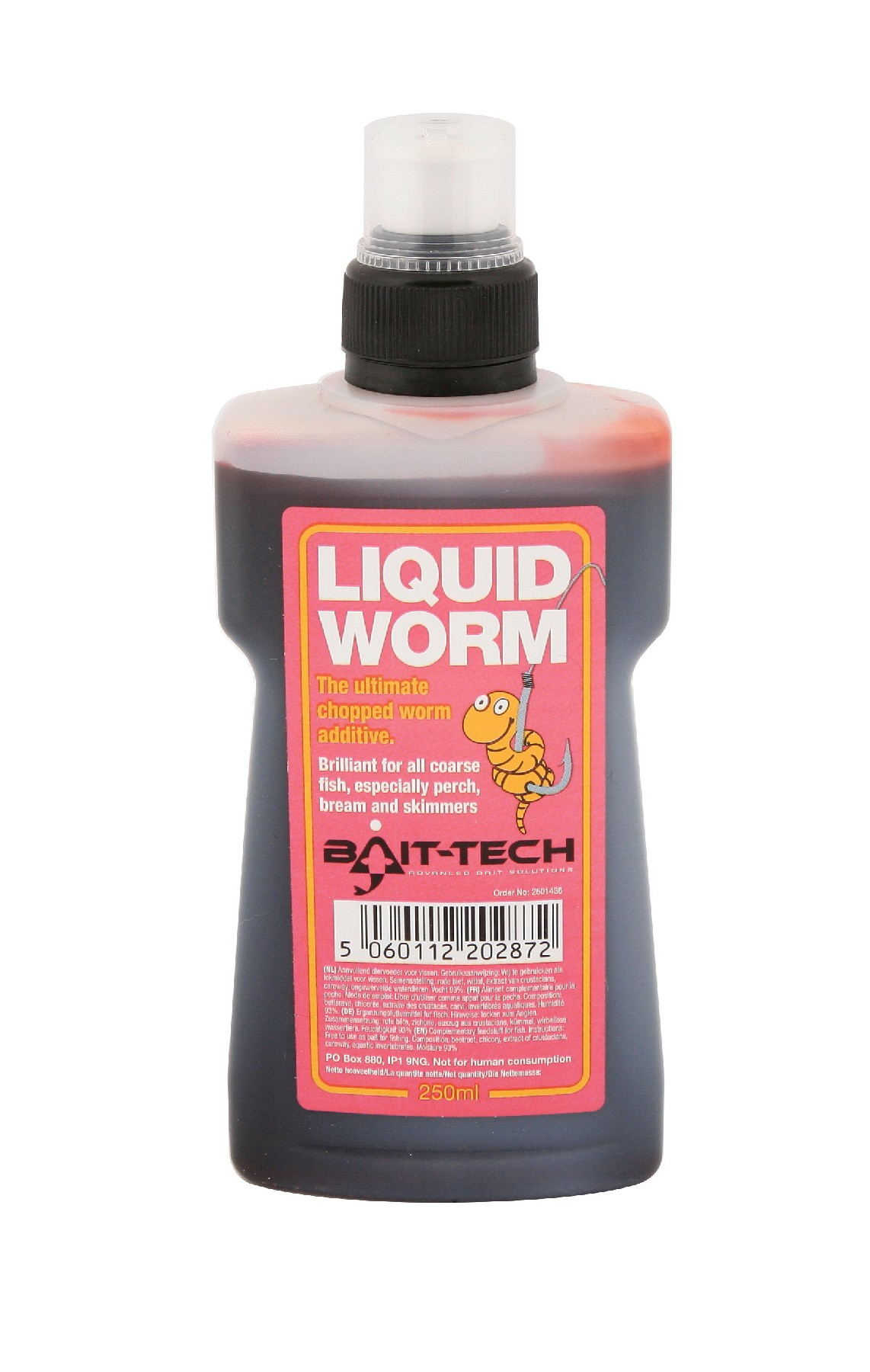 BAIT-TECH Tekutá esencia Liquid Worm 250ml