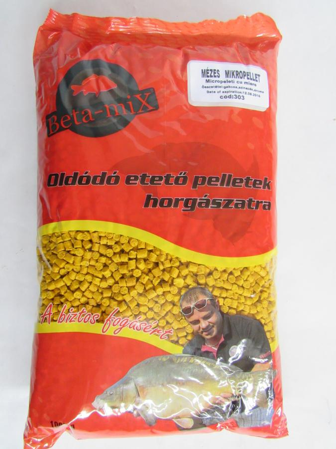 BETA MIX Mikropelety 4 mm, 1 kg - Med