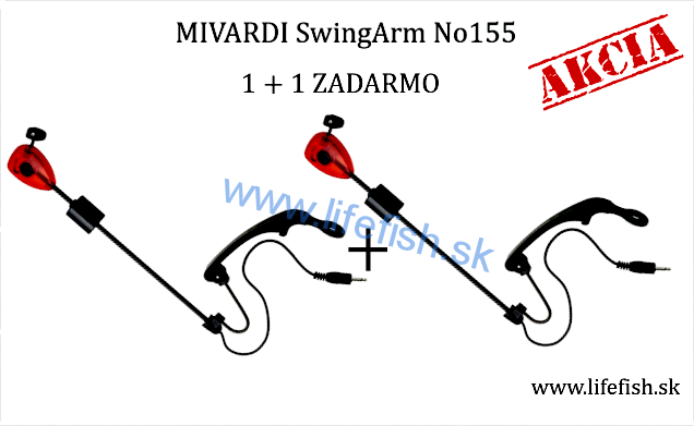 MIVARDI SwingArm No155 - Set 1+1