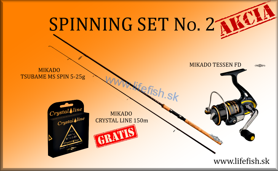 MIKADO Spinning Set No. 2