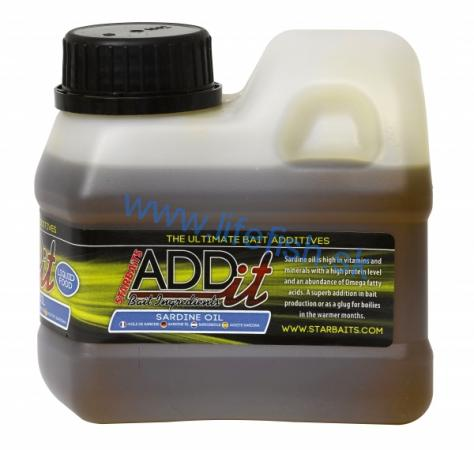 STARBAITS Add'IT Sardine Oil 500ml - Sardinkový olej