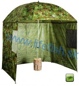 GIANTS FISHING Dáždnik - Square Camo Umbrella - 2.5m