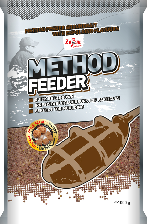 CARP ZOOM Method Feeder Tigrí orech - 1kg