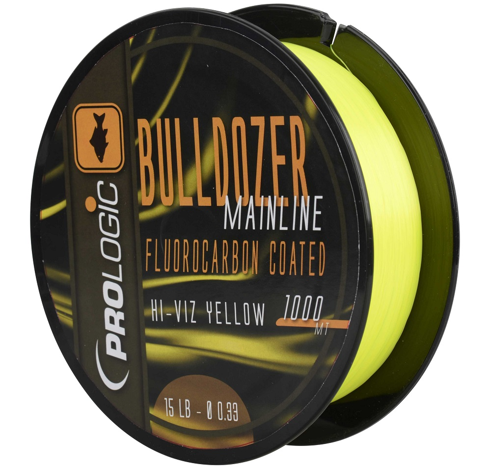 PROLOGIC Buldozer Mono Fluo Yellow 1000m