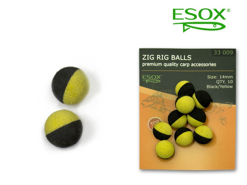 ESOX Zig Rig Balls 14 mm - 10 ks