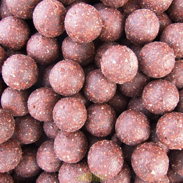 LIFEFISH Kŕmne boilies 20mm, 5kg - ROBIN RED/CHILLI