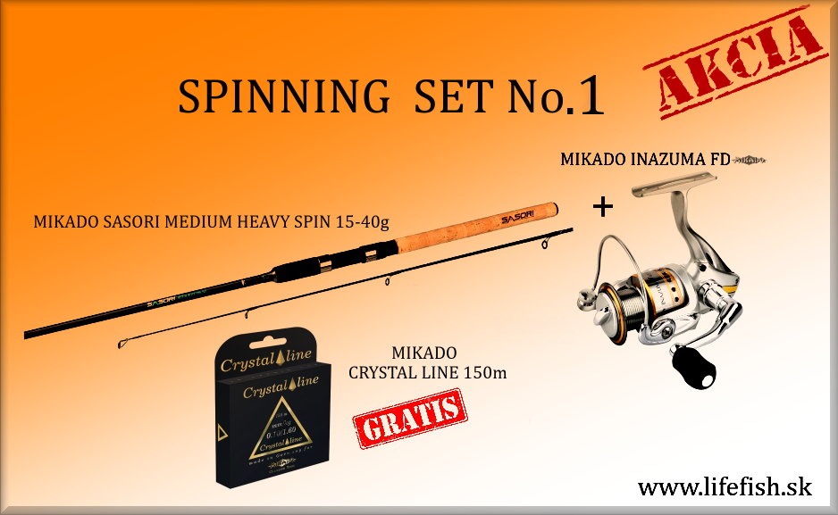 MIKADO Spinning Set No. 1