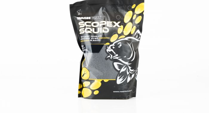 NASH Scopex & Squid Feed Pellets - 2mm 900g