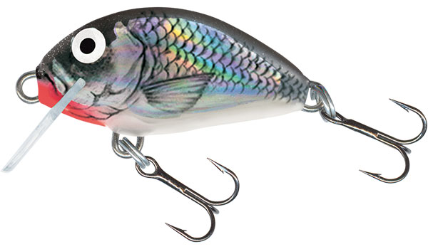 SALMO Wobler Tiny Sinking Holographic Grey Shiner 3cm, 2.5g