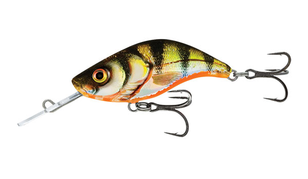 SALMO Wobler Sparky Shad Sinking Yellow Holographic Perch 4cm, 3g