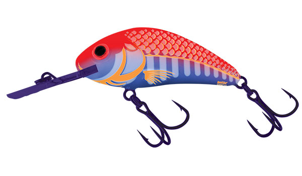 SALMO Wobler Rattlin Hornet Floating Ultraviolet Orange 4.5cm, 6g