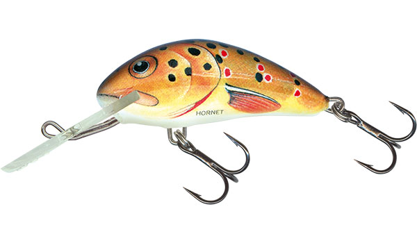 SALMO Wobler Hornet Floating Trout 3.5cm, 2,m, 2.2g