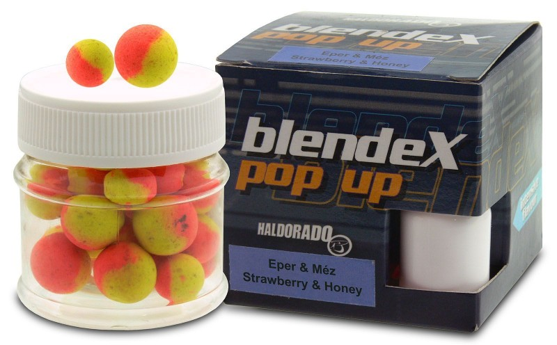 HALDORADO BlendeX Pop Up Big Carps 12-14mm Jahoda-Med