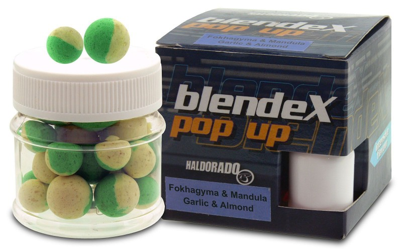 HALDORADO BlendeX Pop Up Big Carps 12-14mm Cesnak-Mandľa