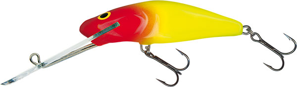 SALMO Wobler Bullhead Super Deep Runner Clown 6cm, 7g