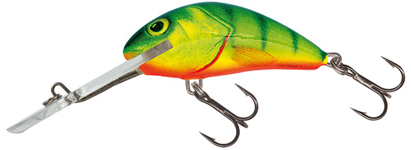 SALMO Wobler Hornet Super Deep Runner Hot Perch 4cm, 3.8g