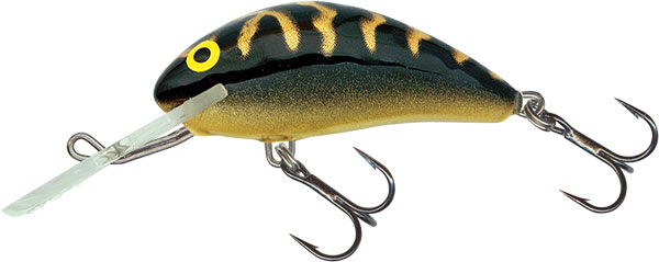 SALMO Wobler Hornet Floating Black Tiger 3.5cm, 2.2g