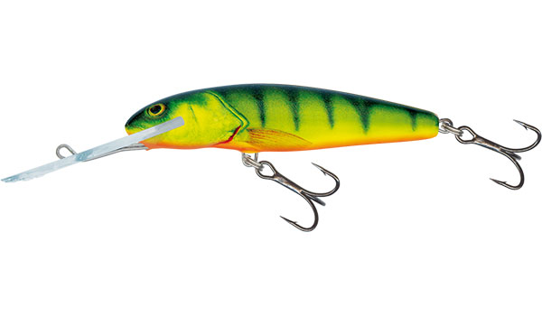 SALMO Wobler Minnow Super Deep Runner Hot Perch 7cm, 7g