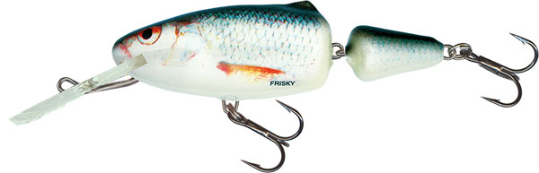 SALMO Wobler Frisky Deep Runner Silver Blue Orange 5cm, 5.5g
