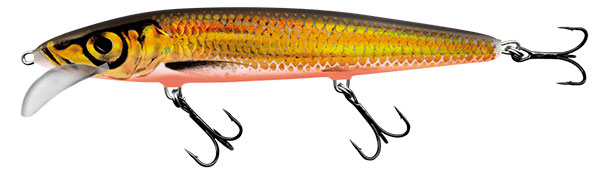 SALMO Wobler Whacky Gold Chartreuse 9cm, 5.5g