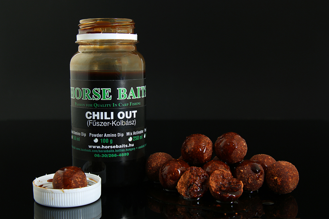 HORSE BAITS Liquid Amino Dip 150ml - Chili Out