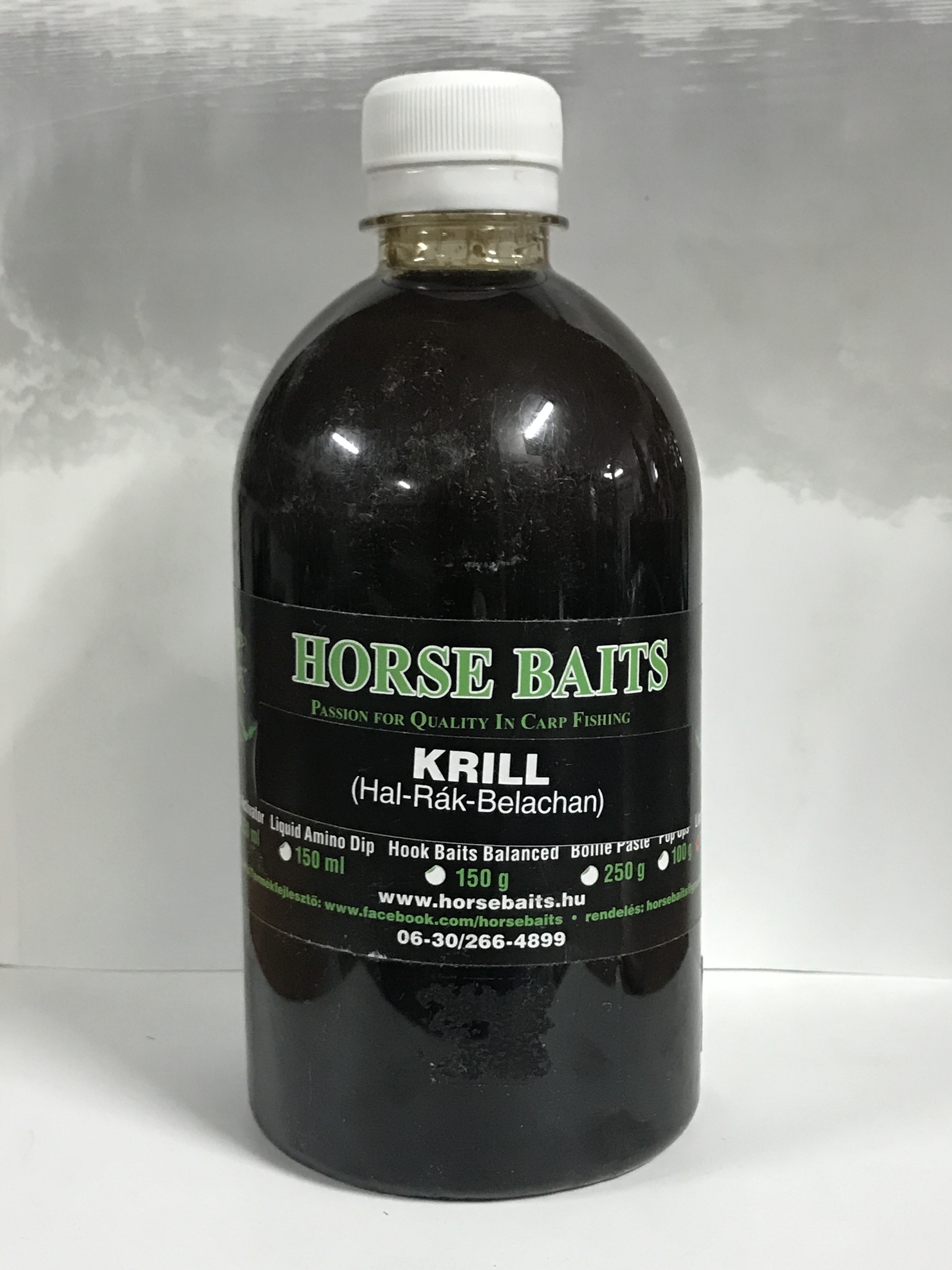 HORSE BAITS Liquid Feed 500ml - Krill