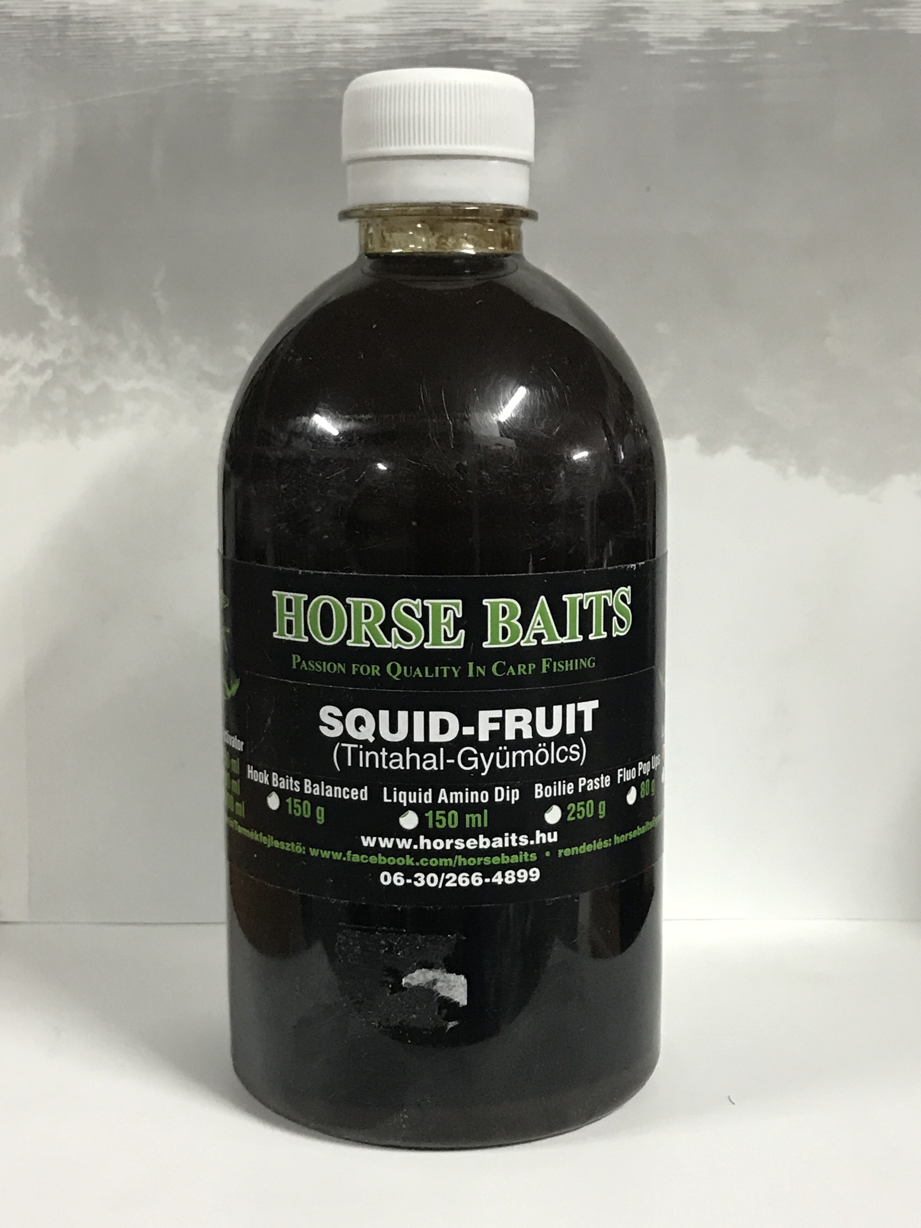 HORSE BAITS Liquid Feed 500ml - Squid Fruit