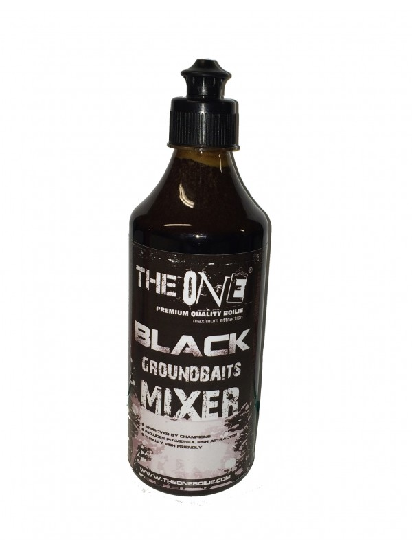 THE ONE Groundbaits Mixer 500ml - BLACK