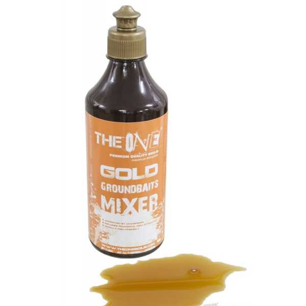 THE ONE Groundbaits Mixer 500ml - GOLD