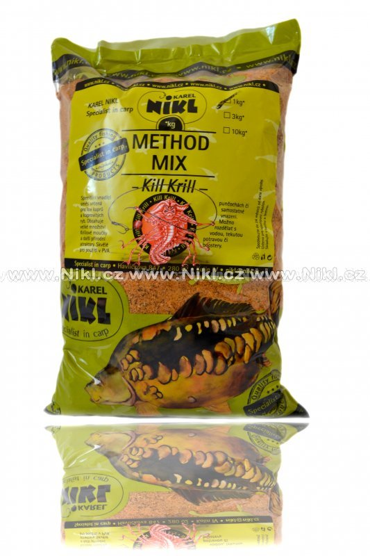 NIKL Method Mix Kill Krill /1kg, 3kg/