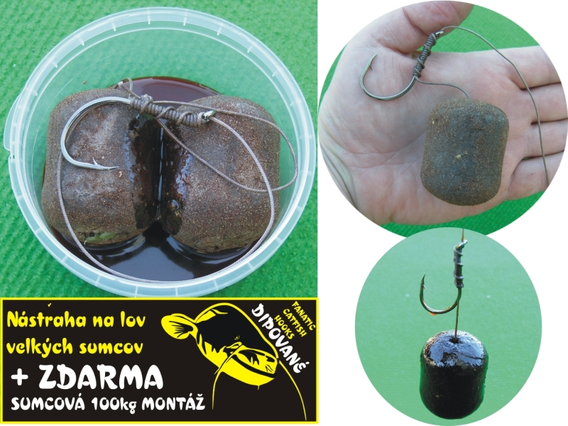 FANATIC Catfish Hooks - Pečeň 2ks