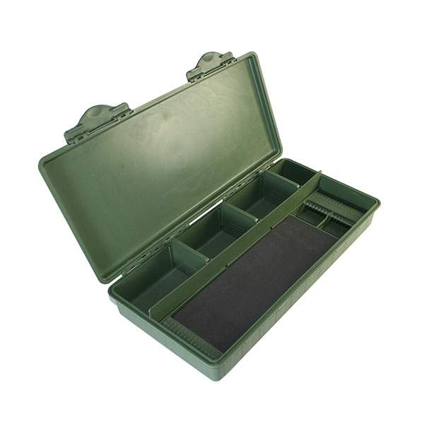 NGT Box Carp Tackle With Rig Board /35x18x6.25/cm