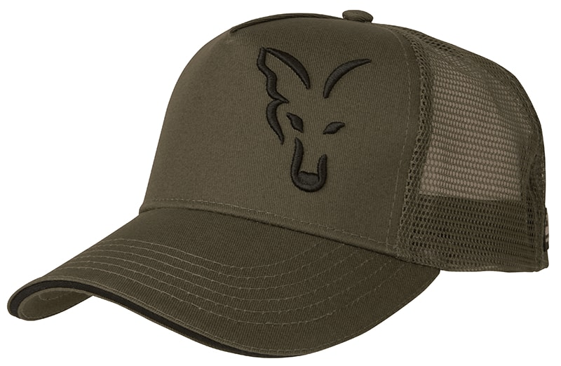 FOX Šiltovka Green & Black Trucker Cap