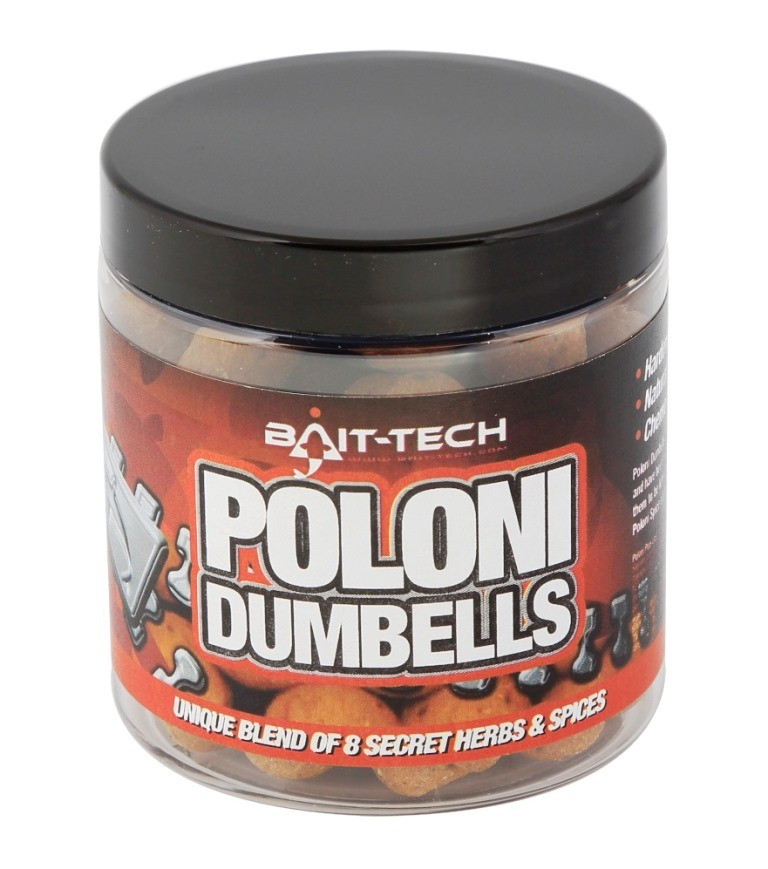 BAIT-TECH Pelety - Poloni Dumbells 14/18mm, 120g